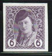 Bosnia 6 Heller Mauve Newspaper Stamp From 1913 Imperf And Mounted Mint. - Bosnia And Herzegovina