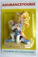 FIGURINE EN RESINE ASTERIX ATLAS 04 ASSURANCETOURIX (1) Neuf Sous Bister - Asterix & Obelix
