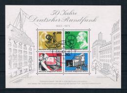 Berlin 1973 Rundfunk Block 4 Gestempelt - Berlin (West)