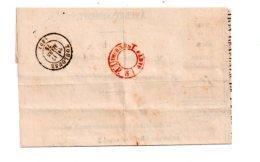 Affranchissement Sur Enveloppe 1875-Toulouse-voir état- - Marcophilie (Lettres)