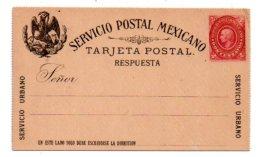 Entier Postal Mexico-voir état- - Mexique