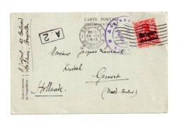Affranchissement Sur Carte - Belgique-avec Timbre Deutsches Reichvoir état- - Belgique