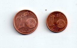 Malte - Pièces De 1, 2 Cents D'euro -voir état- - Malte