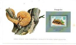 Animals Of The World Stamp-Pangolin-Swazilandvoir état- - Timbres