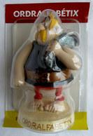 FIGURINE EN RESINE ASTERIX ATLAS 16 ORDRALPHABETIX Neuf Sous Bister - Asterix & Obelix