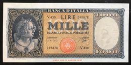 1000 LIRE ITALIA MEDUSA 25 09 1961 Q.fds LOTTO 2138 - [ 2] 1946-… : Républic