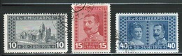 Bosnia Military Post Assassination Of Archduke Ferdinand Fund Set Of Stamps From 1917 In Fine Used Condition. - Bosnia And Herzegovina