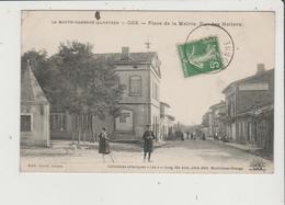 CPA - COX - Place De La Mairie - Rue Des Métiers - Frankrijk