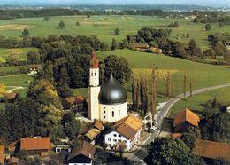 1 AK Germany * Westerndorf Am Wasen Ein Stadtteil Von Rosenheim - Wallfahrtskirche St. Johann Baptist Und Heilig Kreuz - Rosenheim