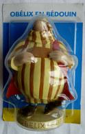 FIGURINE EN RESINE ASTERIX ATLAS 41 OBELIX EN BEDOUIN Neuf Sous Bister - Asterix & Obelix
