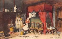Thème Publicité Ou Vue: Cuisine. Cheminée.Arts De La Table  .50 St Pierre L'Eglise  Intérieur Normand  (voir Scan) - Autres