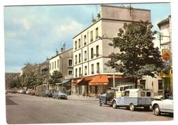 IVRY - Avenue M.Thorez Avec Voitures Anciennes Et Commerces - Ivry Sur Seine