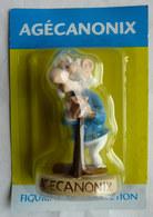 FIGURINE EN RESINE ASTERIX ATLAS 46 AGECANONIX (1) Neuf Sous Bister - Asterix & Obelix