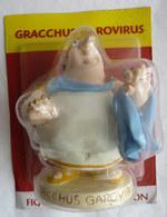 FIGURINE EN RESINE ASTERIX ATLAS 49 GRACCHUS GAROVIRUS (1) Neuf Sous Bister - Asterix & Obelix