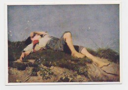 AJ12 The Shepherd Boy By Frans Von Lenbach - Paintings