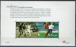 Portugal 2004 - Fußball Football - UEFA - MiNr Block 202 (2841) - Ungebraucht
