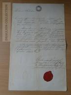 DC53.7   Old Document  - Pest - 1852 - Josefa Cecilia Hartmann - Unclassified