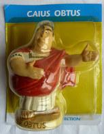 FIGURINE EN RESINE ASTERIX ATLAS 57 CAIUS OBTUS Neuf Sous Bister - Asterix & Obelix
