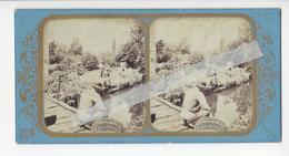 FRANCE LE COURS D'EAU Circa 1855 PHOTO STEREO /FREE SHIPPING REGISTERED - Photos Stéréoscopiques