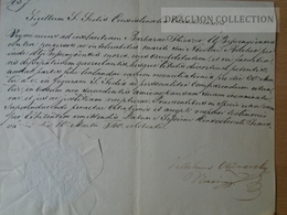 DC53.8   Old Document  - Temesvár 1840 -- Újbesenyő - Barbara Thieszer -Nicolai Bucher - Announcements