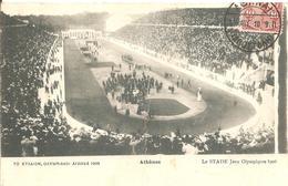 1906  CP 10ème Anniversaire Des Premiers Jeux Olympiques Athènes - Olympische Spiele