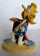 FIGURINE EN RESINE ASTERIX ATLAS 04 ASSURANCETOURIX (2) En Loose - Asterix & Obelix