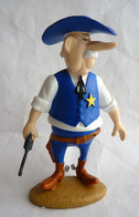 FIGURINE LUCKY LUKE RESINES ATLAS - 2003 - LUCKY LUKE - SHERIF (1) Dans Sa Boîte En Polystyrène Et Son Carton - Figurines