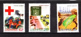 Taiwan  ( Formosa ) - 2000. Studio Di Terremoto. Geo , Soccorso Croce Rossa, Earthquake Study. Geo And Rescue Red Cross - Natura