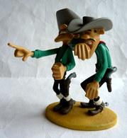 FIGURINE EN RESINE LUCKY LUKE ATLAS DEUX DALTON WILLIAM ET JACK QUI RIGOLENT Dans Leur Boîte - Figurines