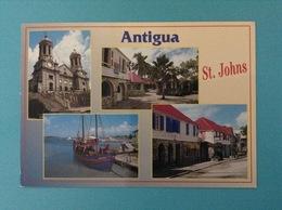 STATI UNITI USA CARTOLINA ANTIGUA & BARBUDA ST. JOHNS - Antigua E Barbuda