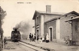 RETONVAL LA GARE (TRAIN EN GARE) - France