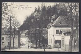 1913 LAROCHETTE CRUCHTEN RUINES GARE LA ROCHETTE  LUXEMBOURG LUXEMBURG FÜR BRIEFTRÄGER DIEKIRCH POST - Larochette