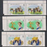 Falkland Islands 1977 Silver Jubilee 3v (pair) ** Mnh (39788A) - Falklandeilanden