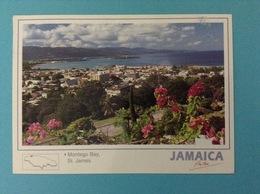 STATI UNITI USA CARTOLINA JAMAICA MONTEGO BAY ST. JAMES - Giamaica