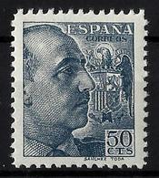 España ** 872 En Nuevo. - 1931-50 Nuevos & Fijasellos