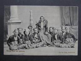 AK Radja Bali En Gevolg Ca.1910  ///  D*33637 - Indonesien