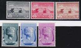 Belgie    .  OBP    .    532/537   .        *     .      Ongebruikt  Met Charnier   .    /     .    Neuf   * - Unused Stamps