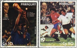 Ref. 350877 * MNH * - PARAGUAY. 1982. FOOTBALL WORLD CUP. SPAIN-82 . COPA DEL MUNDO DE FUTBOL. ESPAÑA-82 - World Cup