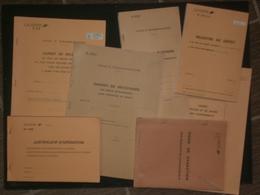 Lot Documents Postaux Neufs  - Récépissés Recommandés Etc (voir Scans) - Documents De La Poste