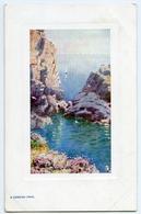 AROUND THE COAST : A CORNISH COVE (TUCK'S OILETTE) - 1900-1949