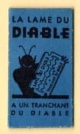 Rasage. Razor Blade. Lame De Rasoir. Lame Du Diable, A Un Tranchant Du Diable. - Lames De Rasoir