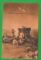 Contraerea Cannoni Aerei Deport  Cpa Viaggiata 1916 Da Venezia X Zona Di Guerra - War 1914-18