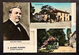 S. Mauro Pascoli Ricordi Pascoliani Viaggiata 1961 Cod.c.2063 - Pesaro