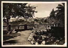 Rogliano Villa Comunale Viaggiata 1954 Leggermente Rovinata Cod.c.2064 - Cosenza
