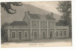 CPA, D.26,  Die ( Drôme ) La Gare , Phot. B. - Die