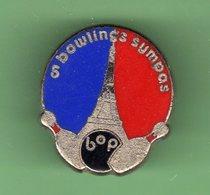 BOWLINGS SUMPAS *** PARIS TOUR EIFFEL *** 0070 - Bowling