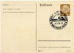 (Lo2244) Karte DR SSt. Adolf Hitler Koog über Marne - Briefe U. Dokumente