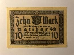 Allemagne Notgeld Ratibor 10 Mark - [ 3] 1918-1933 : Weimar Republic