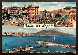 Saluti Da Napoli Non Viaggiata  Cod.c.2070 - Napoli