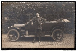 SUPERBE CARTE PHOTO RARE * VOITURE RICHARD BRASIER * 1913 - Automobiles